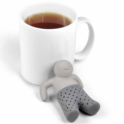 "Mr Tea Infuser ""Tea-licious"" Thee-ei Evans & Watson - 6"
