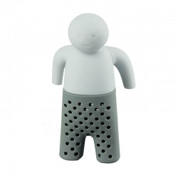 Mini Mr Tea Theemannetje 8.5x3.5 cm Silicone
