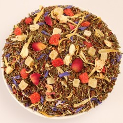 Sunny Times Strawberry Mango  Green Rooibos Rooibos Evans & Watson - 7