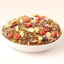 Sunny Times Strawberry Mango  Green Rooibos Rooibos Evans & Watson - 8