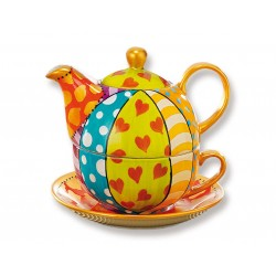 Chacult Cinjia Tea for One Set Theepotten Chacult - 2