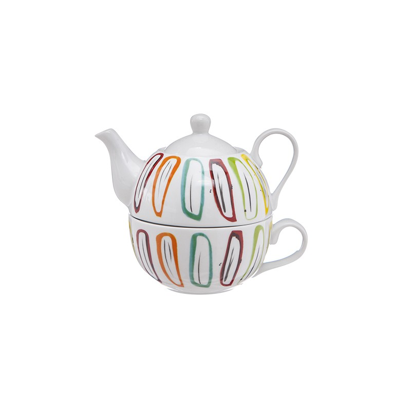 Tea-For-One Cosy theepot 38cl + kop 30cl Accessoires Cosy & Trendy - 1