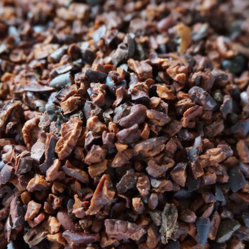 Cacao Nibs RAW Chocolade Evans & Watson - 1