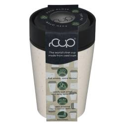 rCup Thee To Go Theebeker 225 ml crème / zwart (100% gerecycled materiaal) Tea to Go  - 1