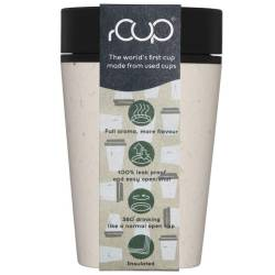 rCup Thee To Go Theebeker 225 ml crème / zwart (100% gerecycled materiaal) Tea to Go  - 2