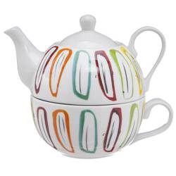 Tea For One Cosy theepot 38cl + kop 30cl Cosy & Trendy Accessoires Cosy & Trendy - 3