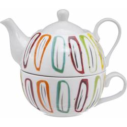 Tea For One Cosy theepot 38cl + kop 30cl Cosy & Trendy Accessoires Cosy & Trendy - 1
