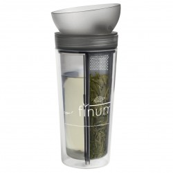 Finum Tea Traveller Zita 0.3 Liter Antraciet